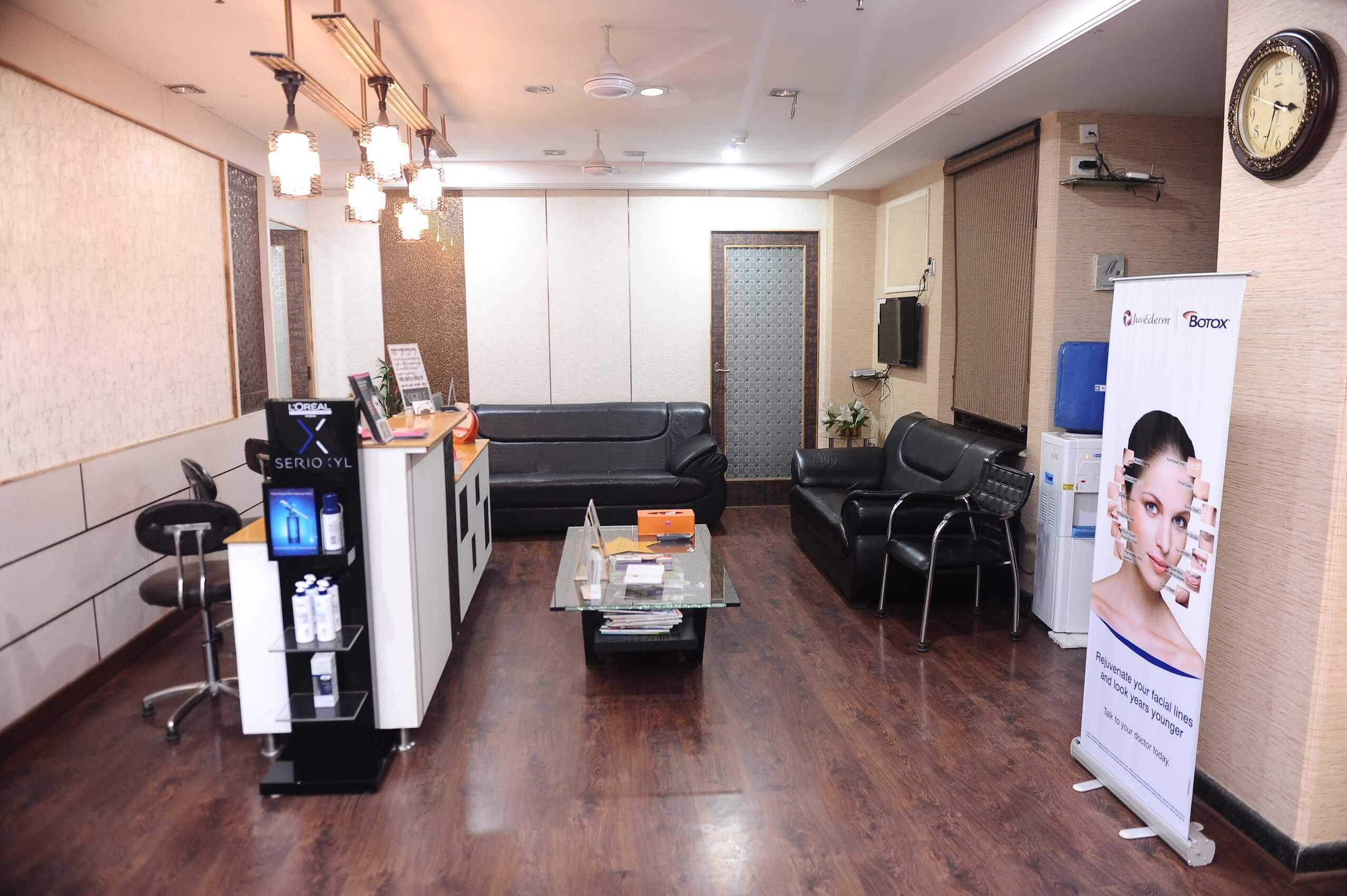 hair treatment clinic